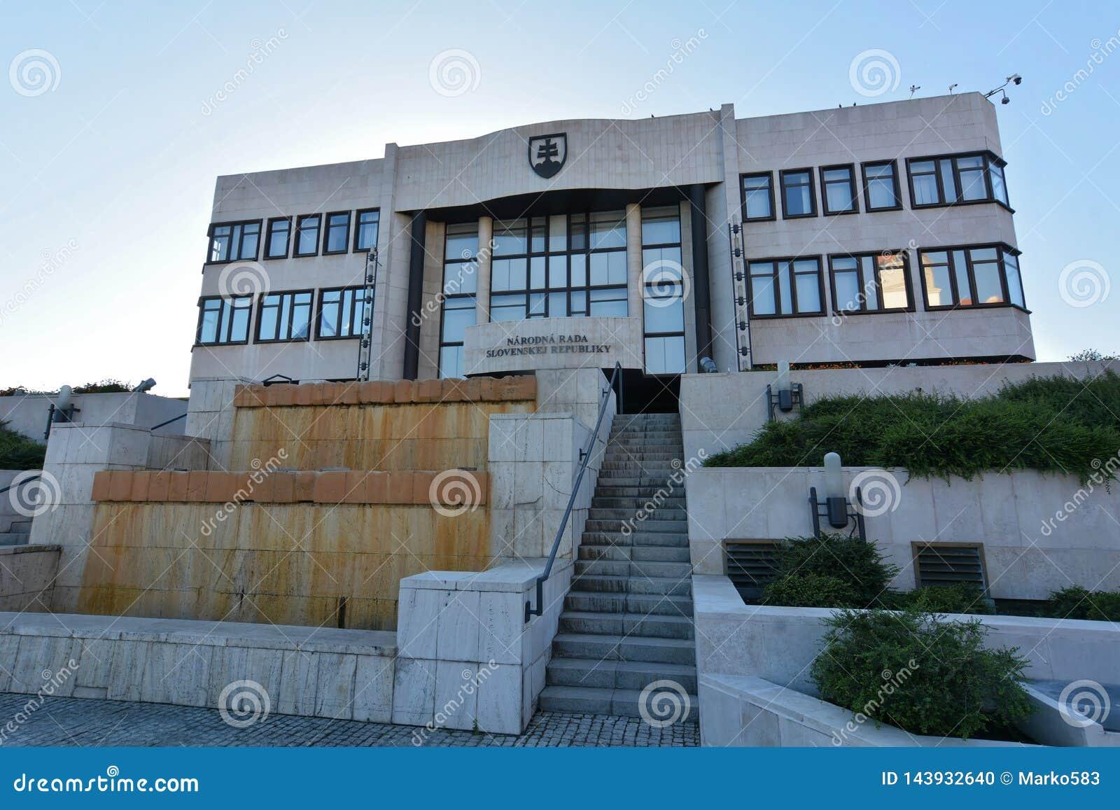 Bratislava - Conseil National, le parlement