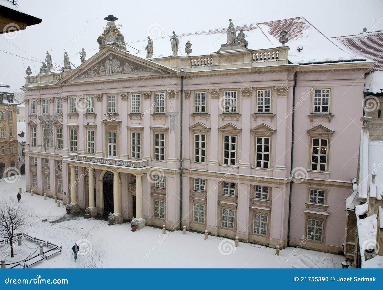 Bratislava metropolita pałac