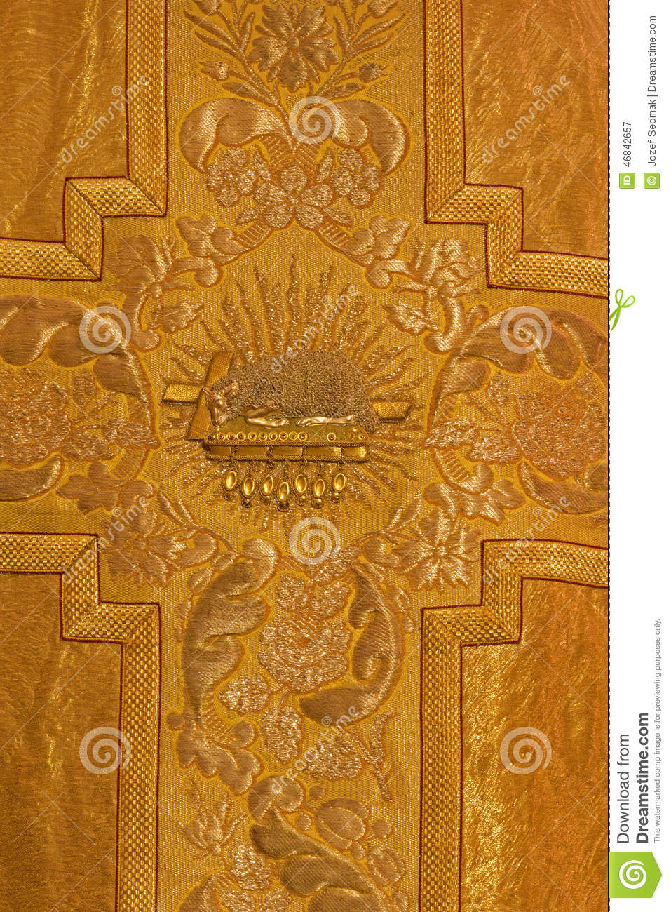 Bratislava the needelwork of lamb on the book of life as the bratislava the needelwork of lamb on the book of life as the symbol of jesus christ offer on the catholic vestment biocorpaavc Gallery