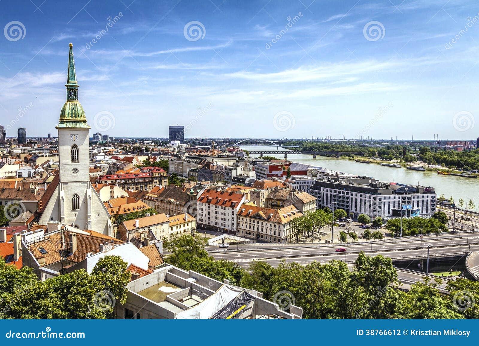 Bratislava-Skyline