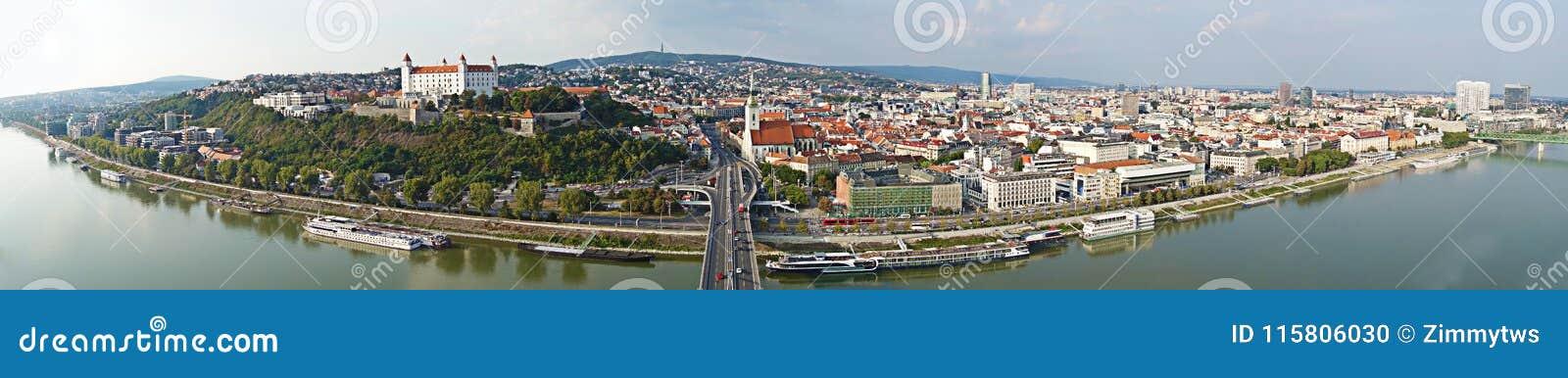 1bd555a39 Bratislava Slovakia Panorama Stock Photo - Image of travel, danube ...