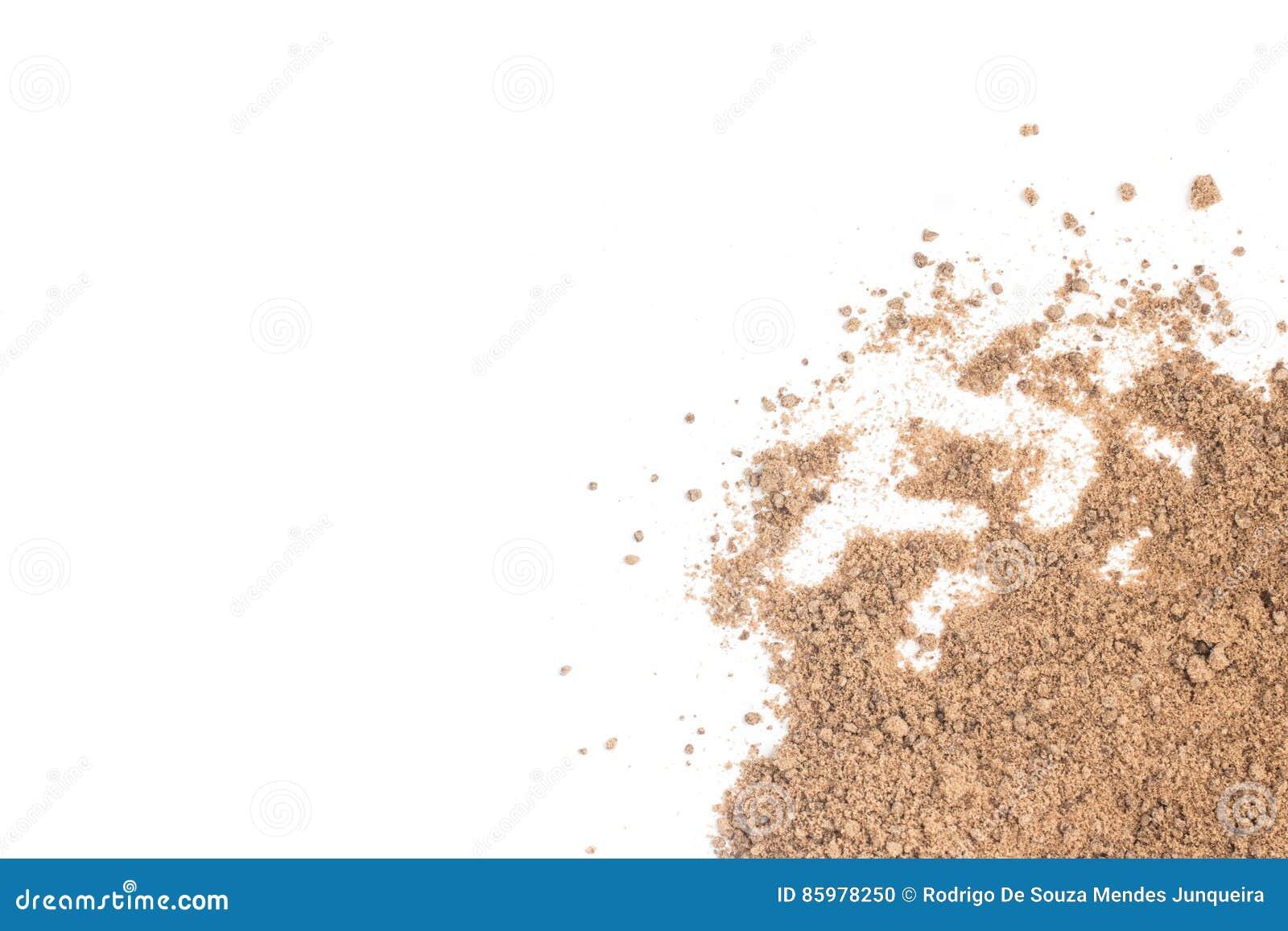 Brauner Zuckerrahmen Mascavo Stockfoto - Bild von beige, stock: 85978250