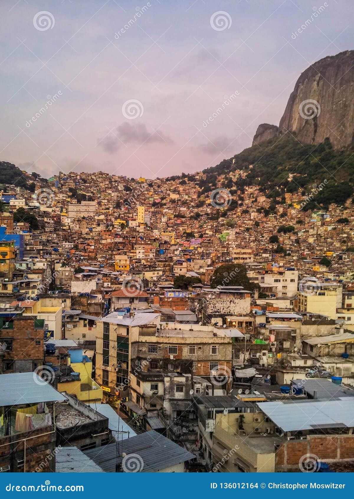 Brazil - Favela of Rocinha in Rio de Janeiro