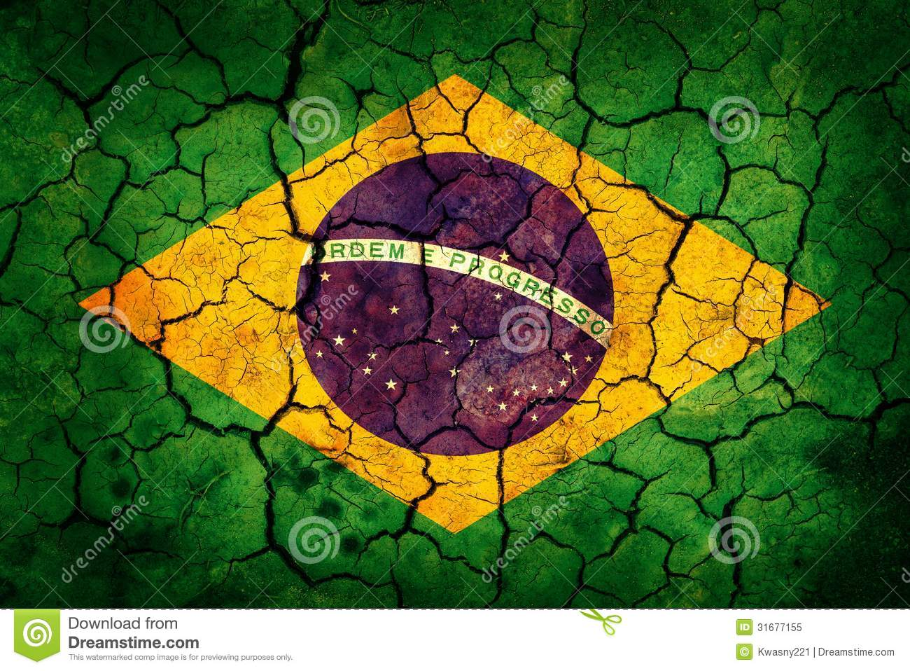 Brazil Flag Photo Download