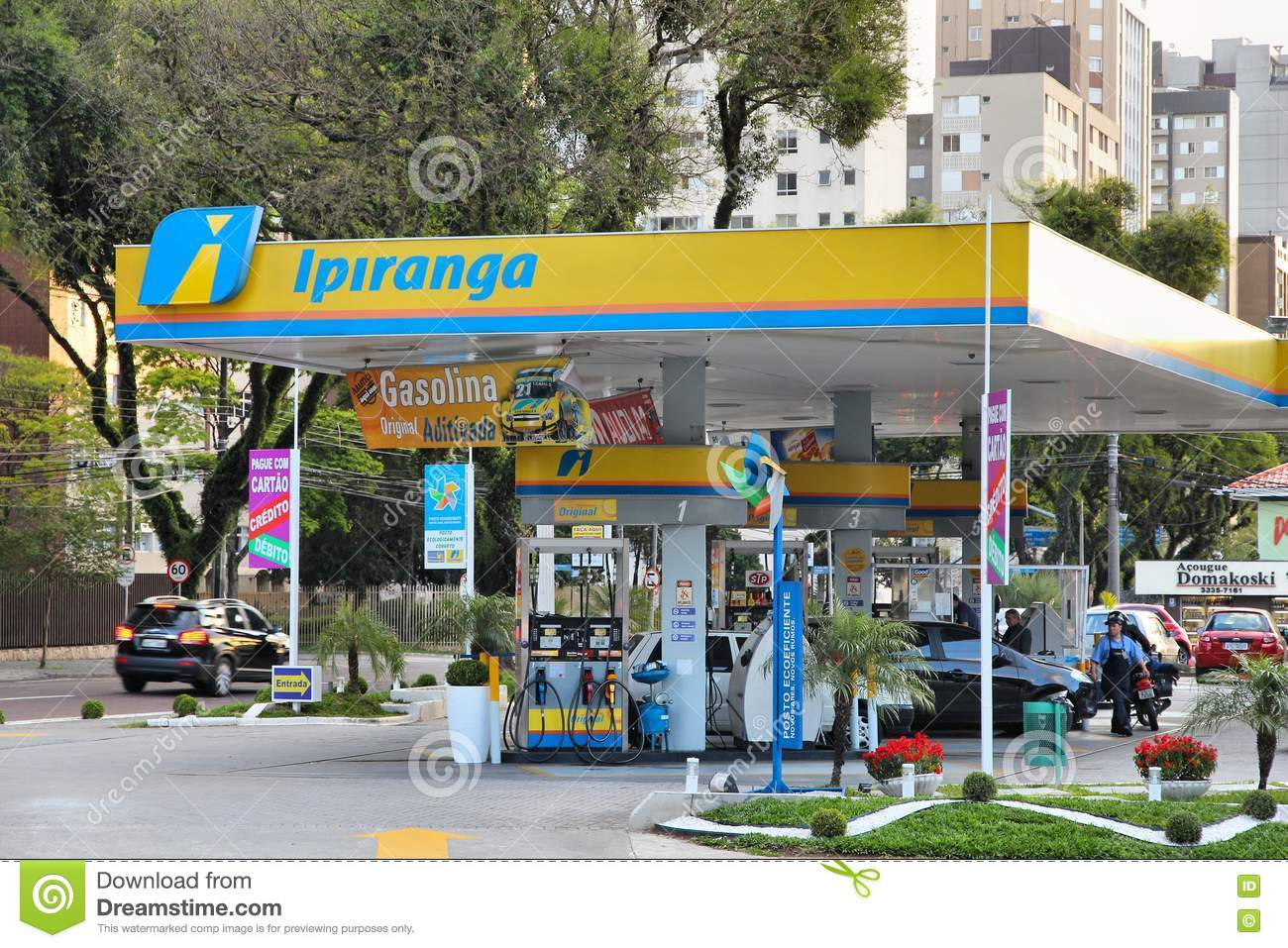 Brazil gas station editorial stock image  Image of