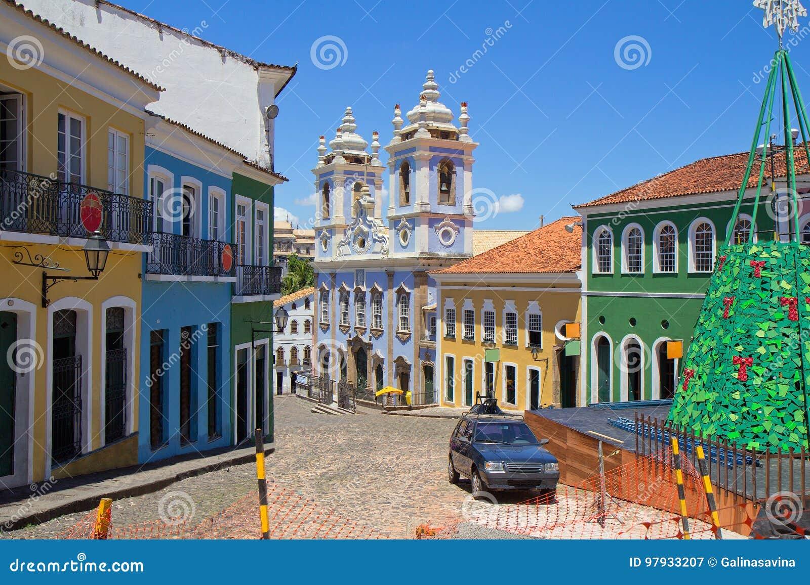 Brazil salvador La iglesia azul