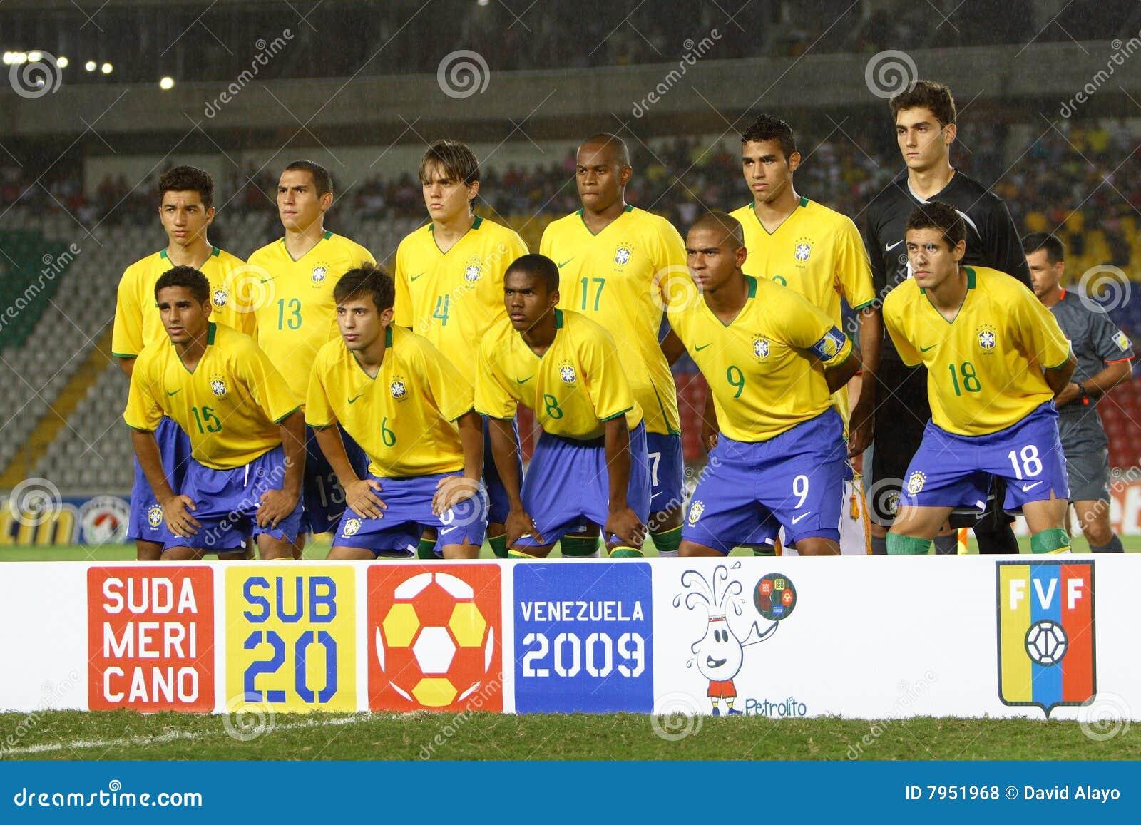 Brasil Soccer Team Locker Room