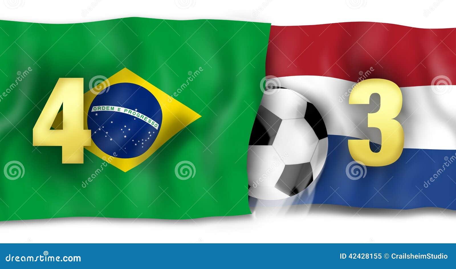 Brazilan 4to y Netherland 3ro