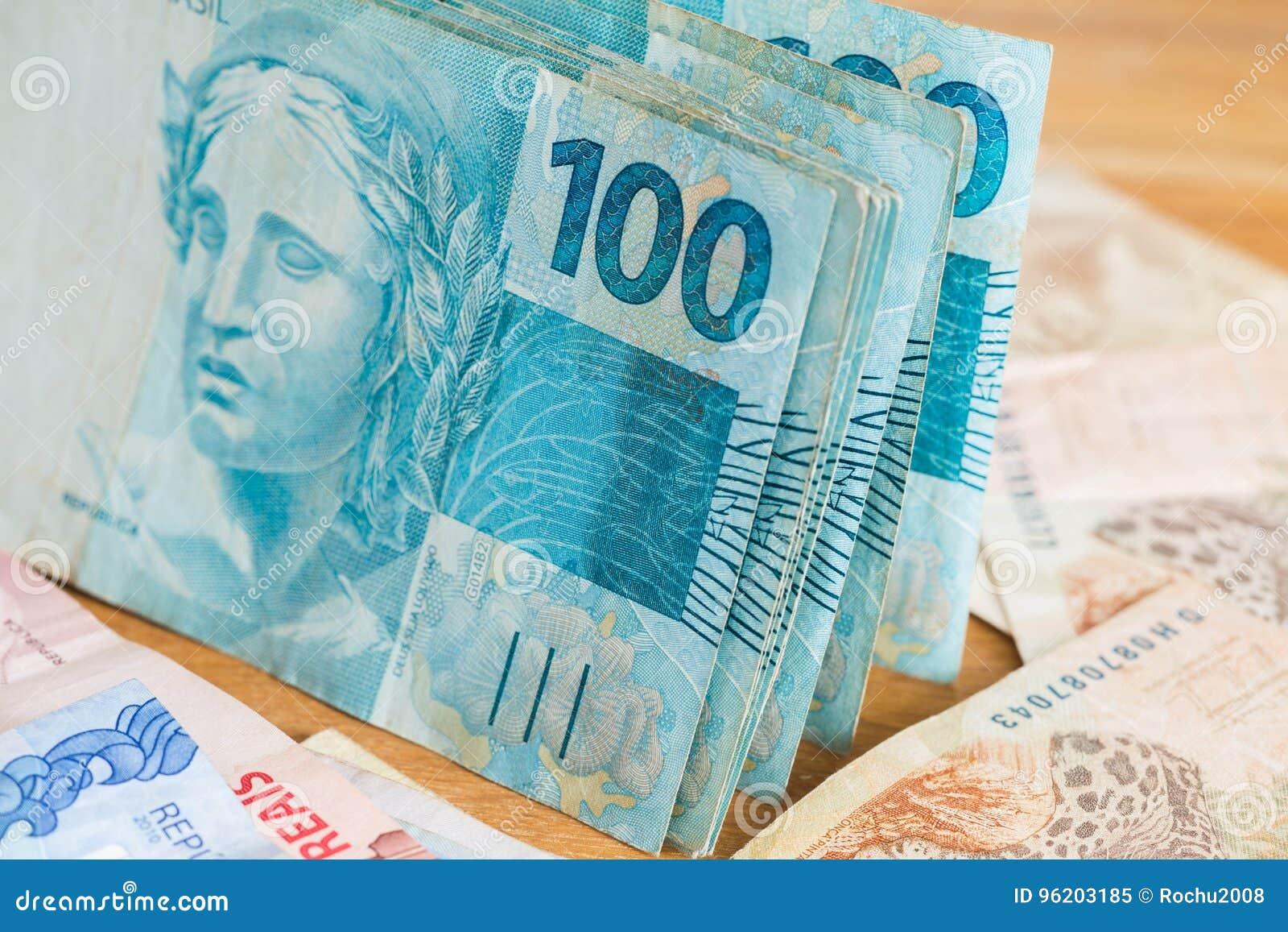 Braziliaans geld, reais, hoog nominaal/concept succes