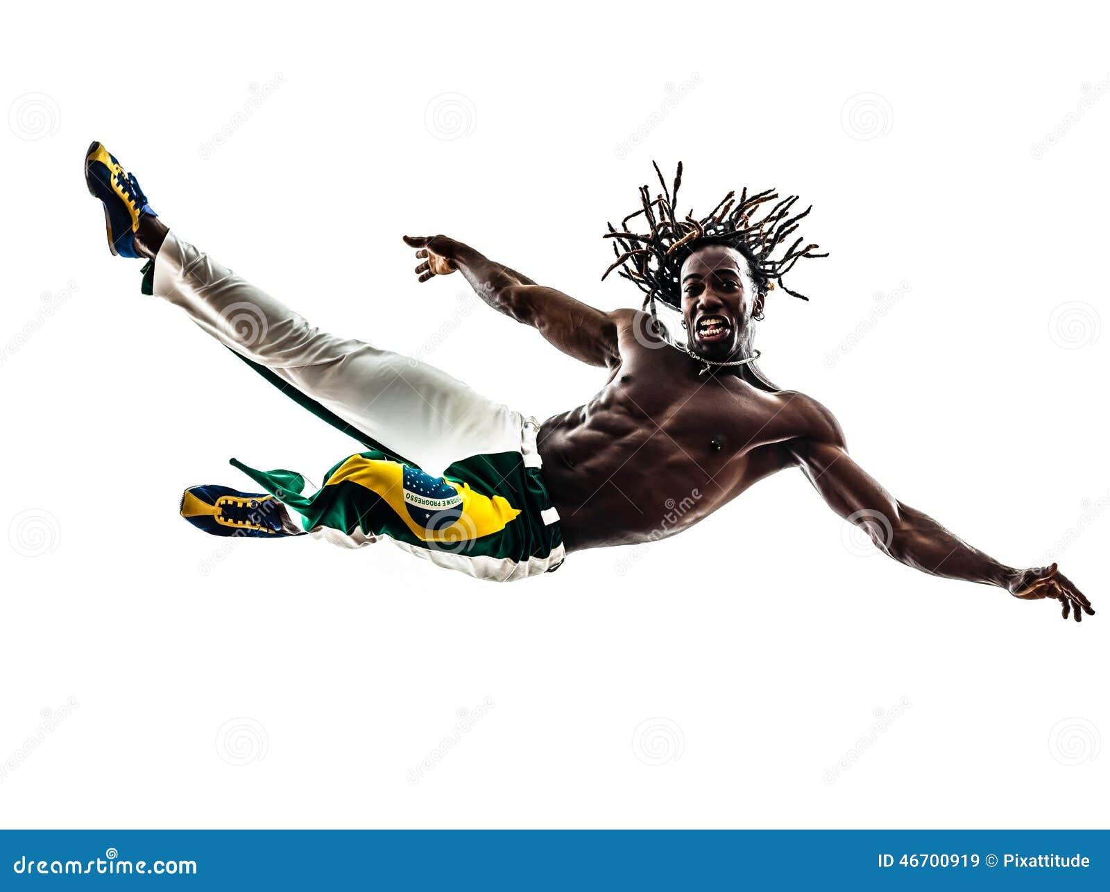 Capoeira Fighters Cartoon Vector Cartoondealer Com 26192707