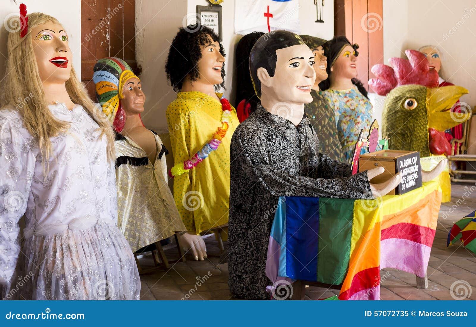 Brazilian Carnival Costumes Stock Image , Image of travel