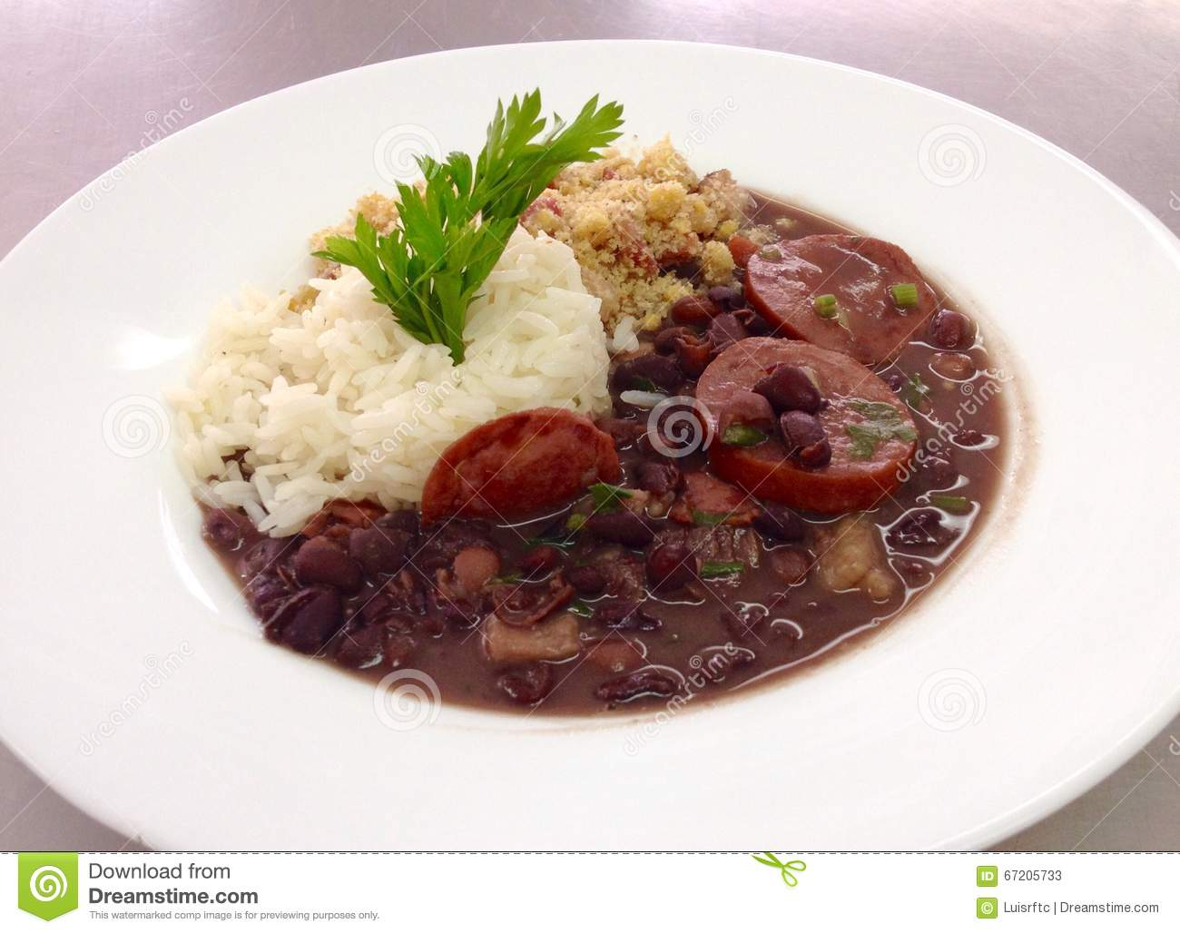 Brazilian Feijoada Stock Photo - Image: 67205733