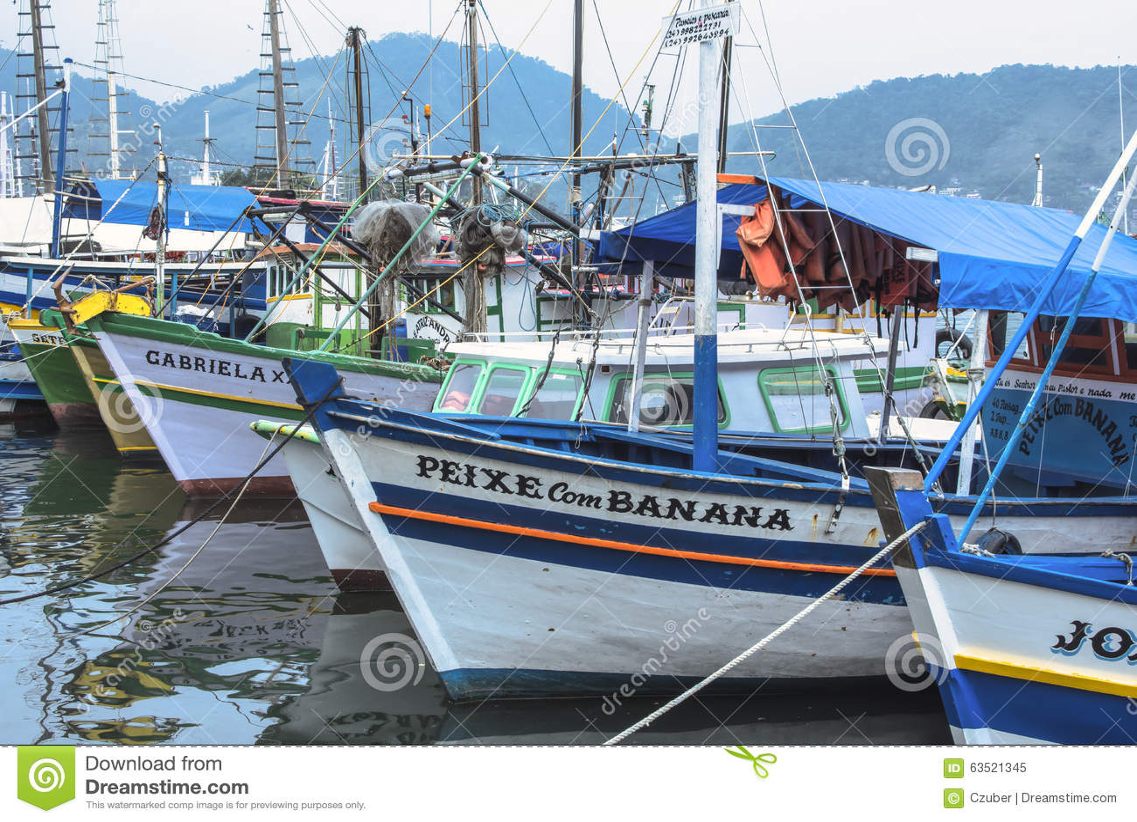 Brazilian fishing boats editorial photo cartoondealer for Delaware fishing charters