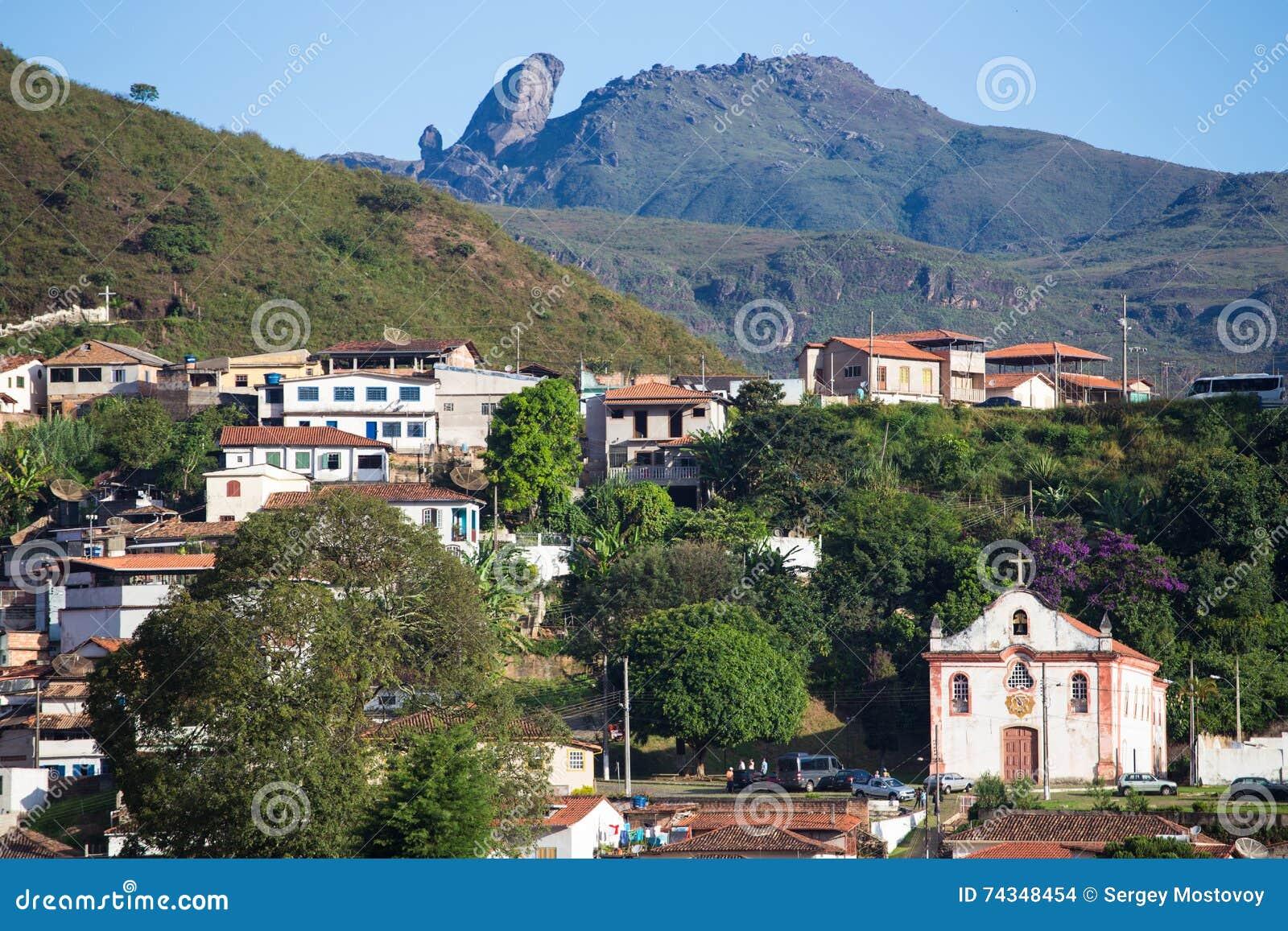 Brazilian Houses Brazilian Houses On A Hill Stock Photo Image 74348454
