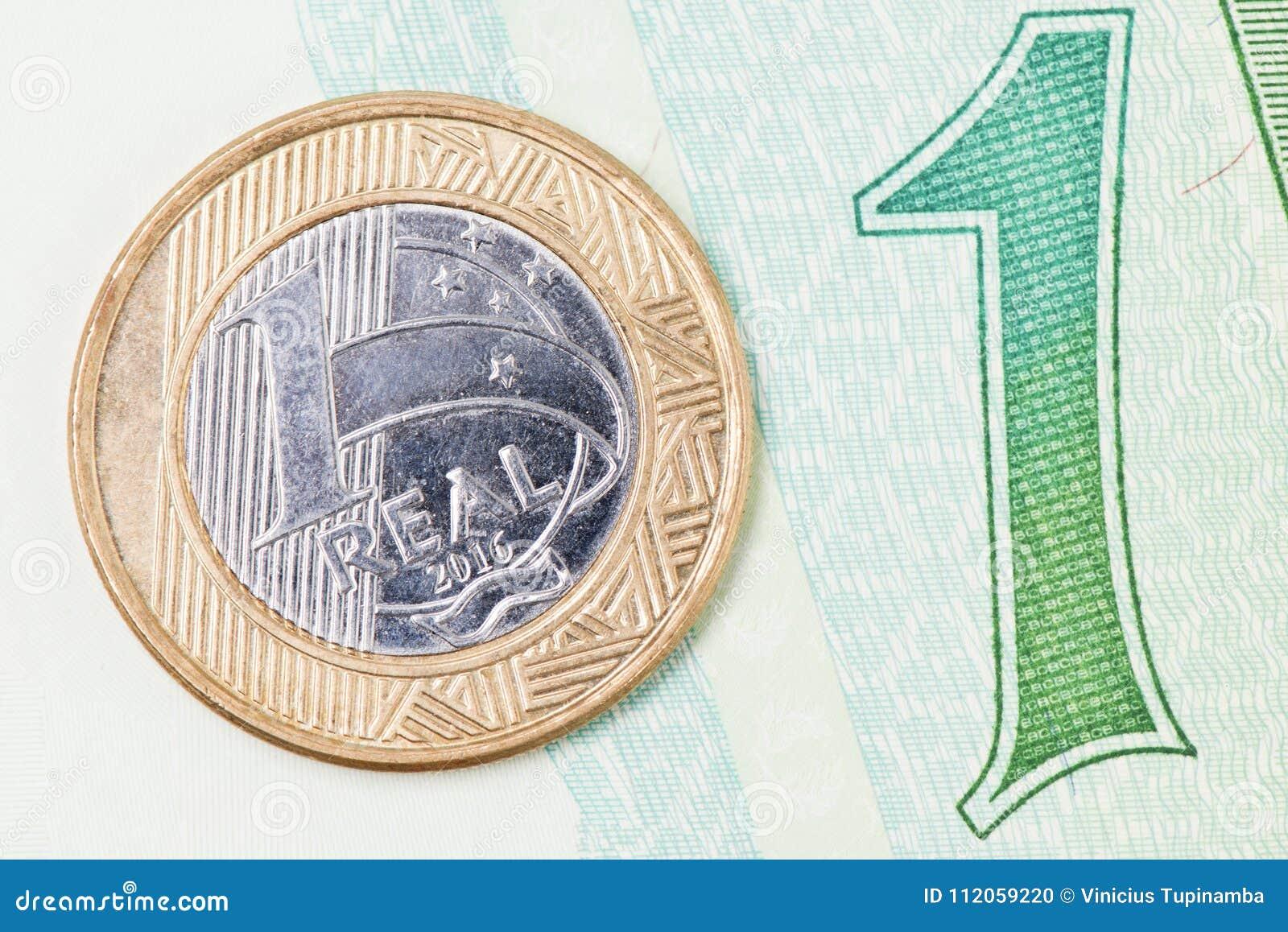 1 brazilian real stock photo image of brazil currencies 112059220 royalty free stock photo buycottarizona Images