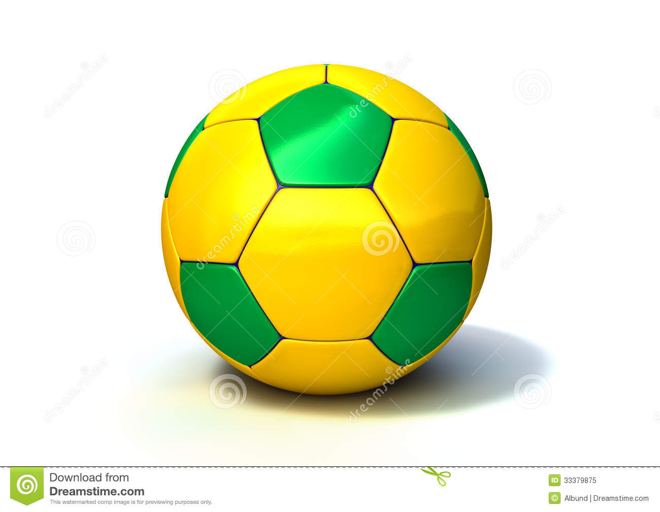 Background Abstract Volleyball Blue Yellow Ball Frame: Brazilian Soccer Ball Royalty Free Stock Photo