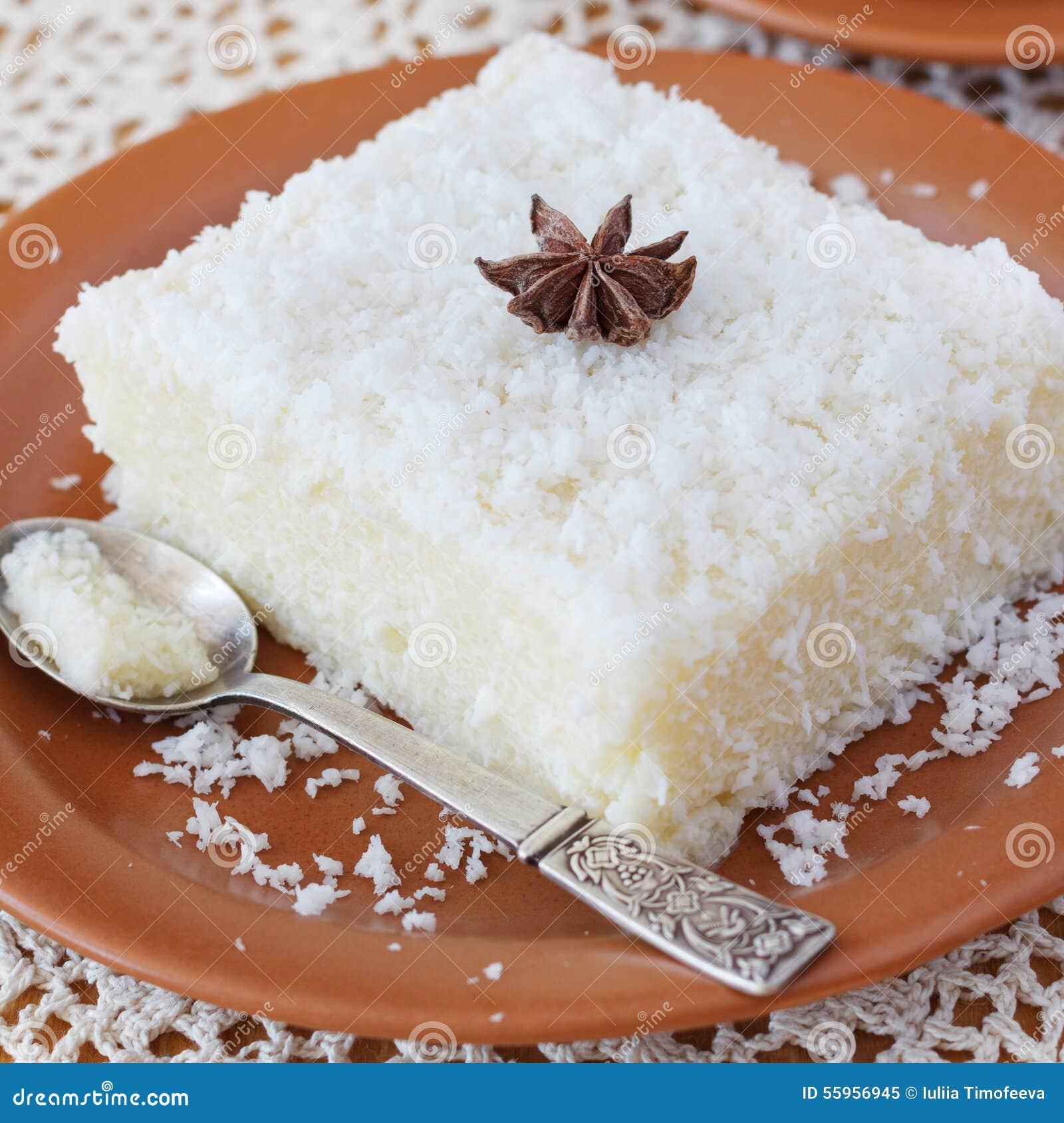 Brazilian Traditional Dessert: Sweet Couscous (tapioca ...