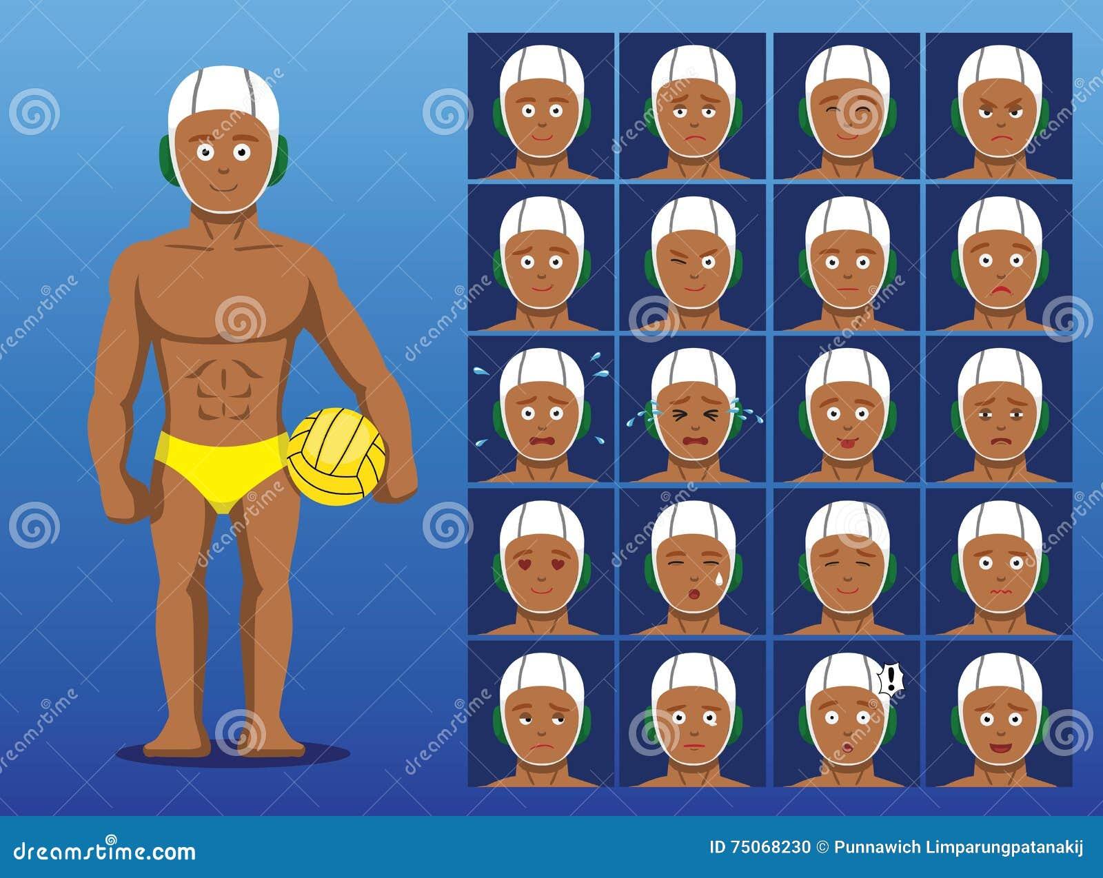 Brazilian Cartoon Ball Vector Illustration Cartoondealer