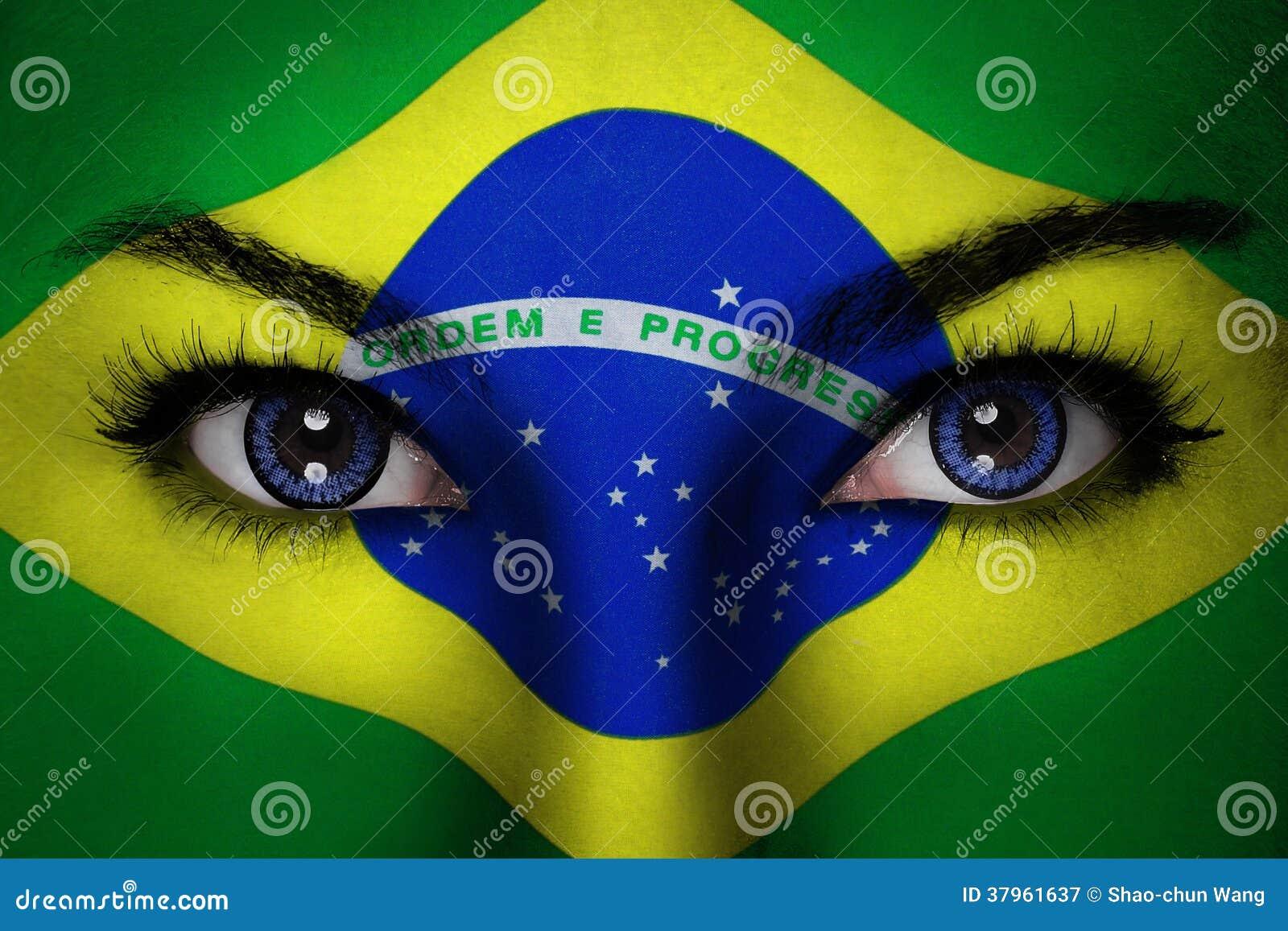 Brazylia kobiety twarz