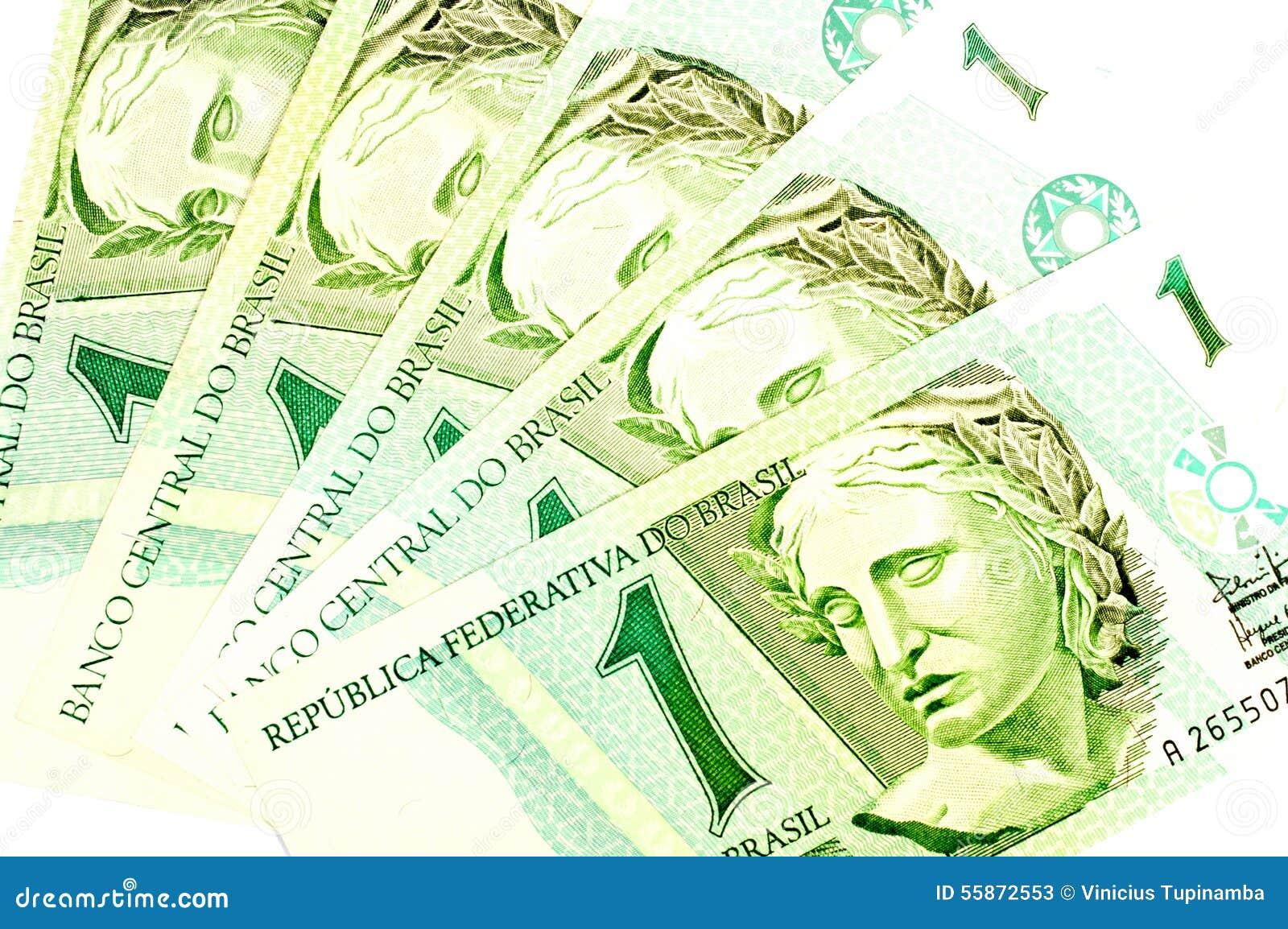 Brazylijski stary pieniądze