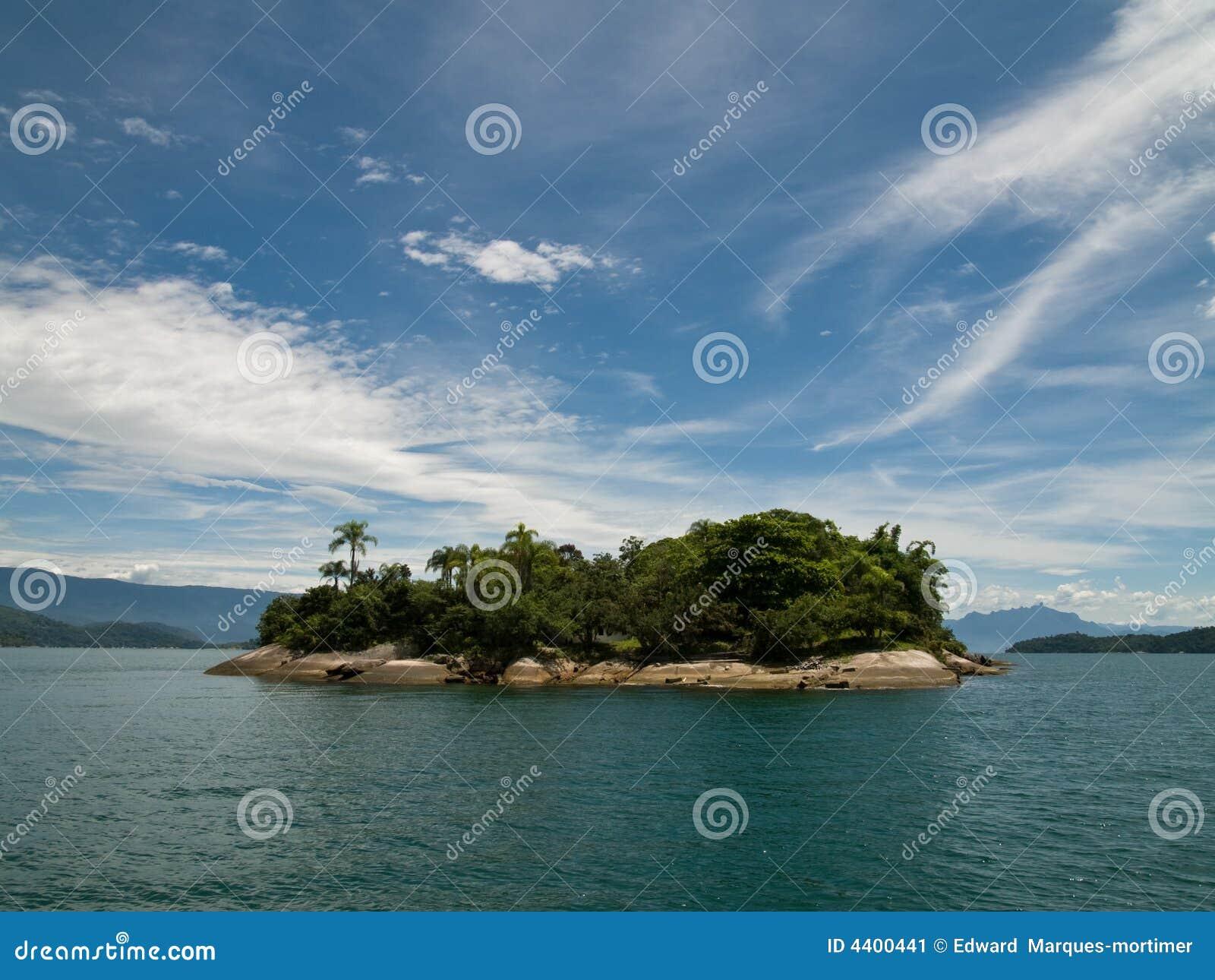 Brazylijskie tropikalna wyspa