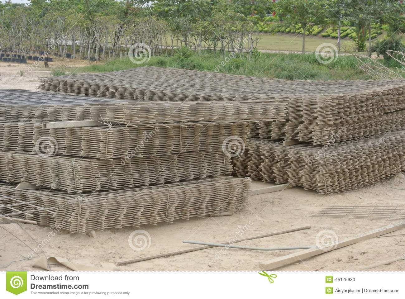 BRC Welded Wire Mesh stock photo  Image of calculation