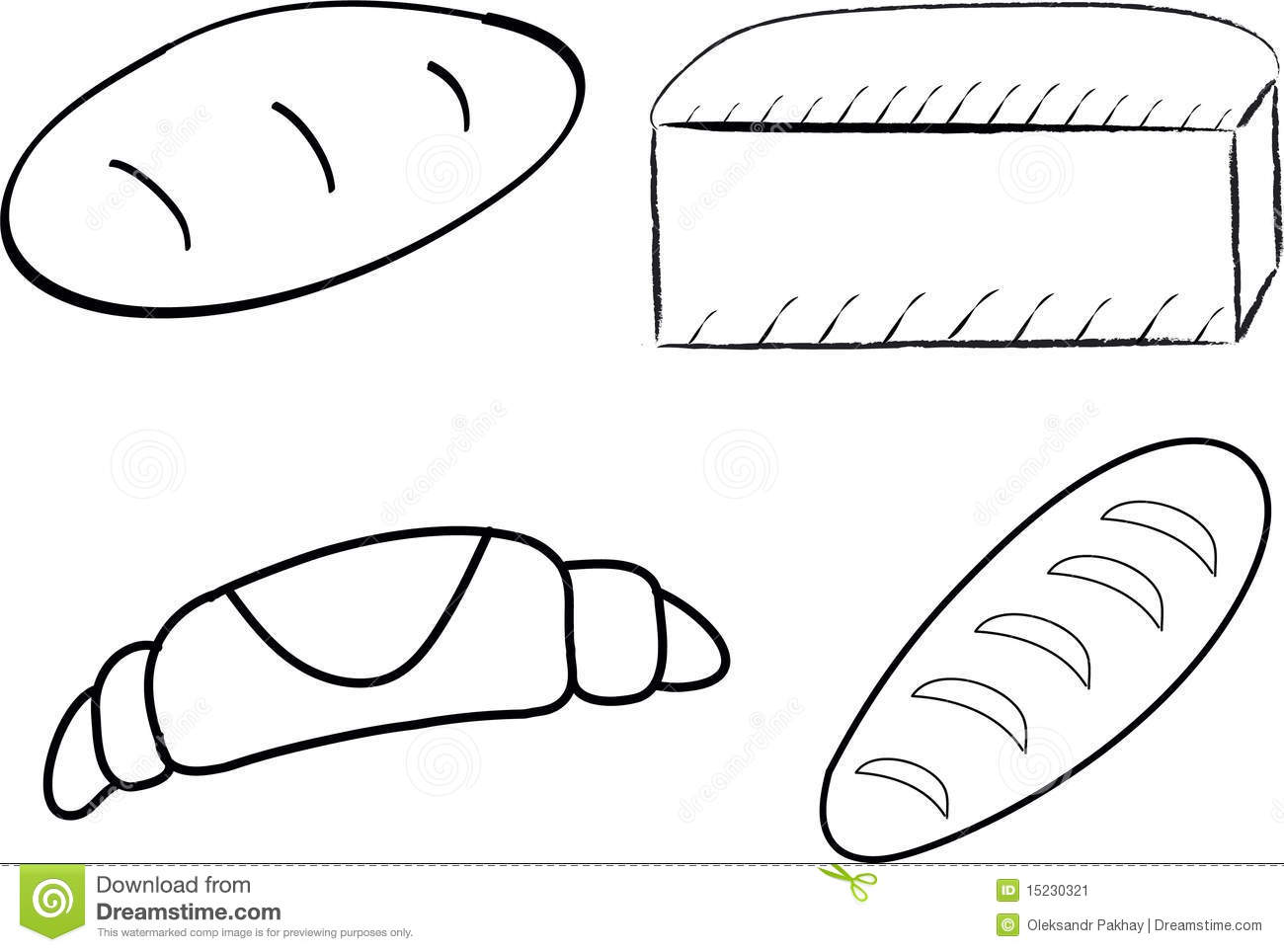 Loaf Of Bread clip art Free vector in Open office drawing svg ...