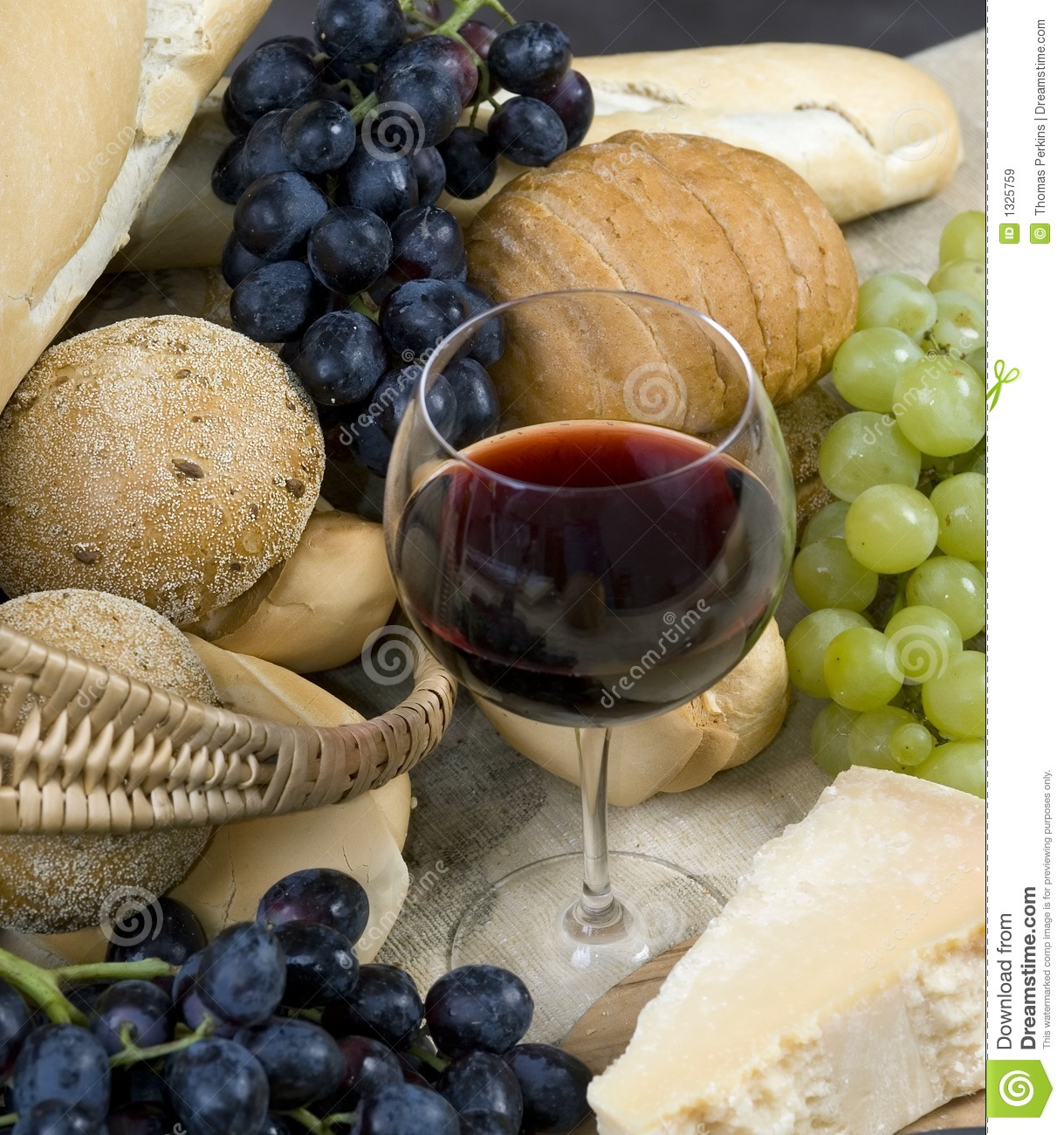 Bread Cheese and Wine 5
