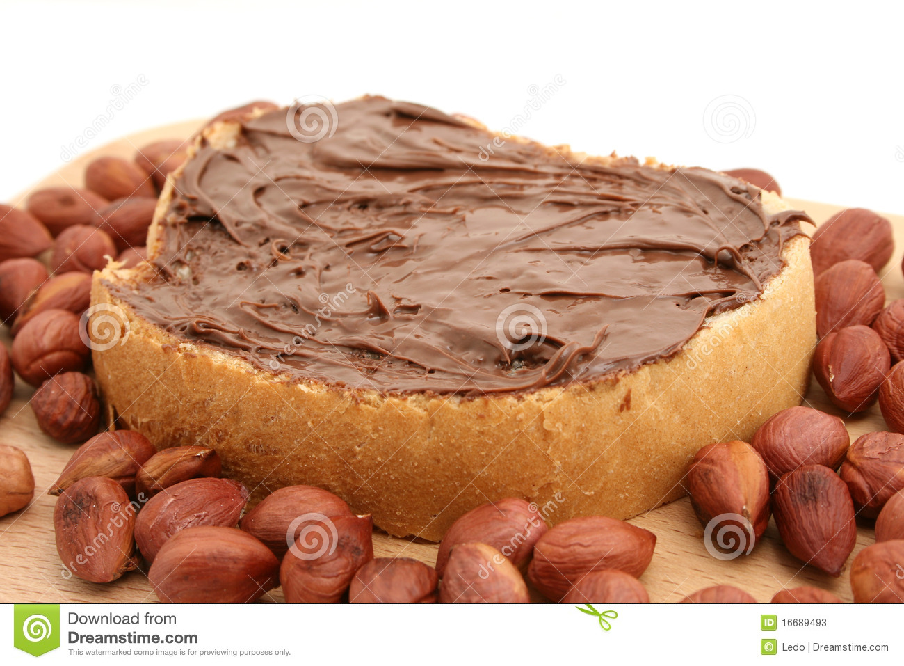 Bread And Chocolate Stock Photos - Image: 16689493