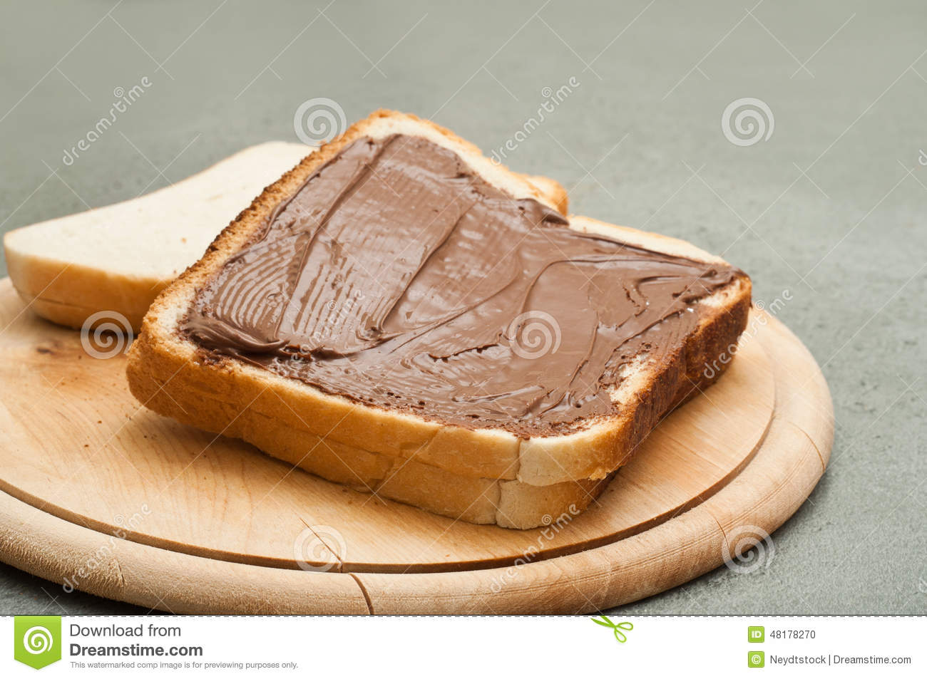 Bread And Chocolate Stock Photo - Image: 48178270