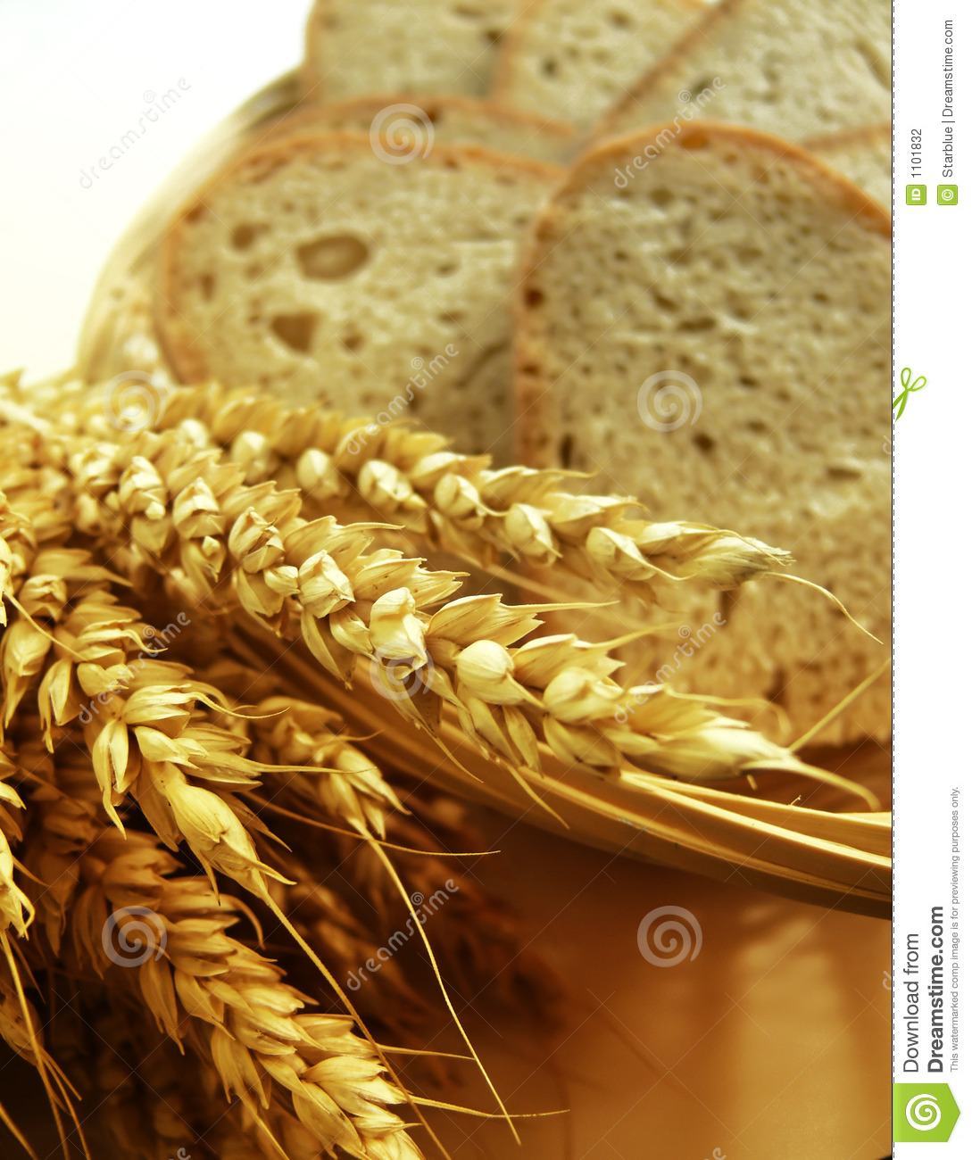 Bread and corn