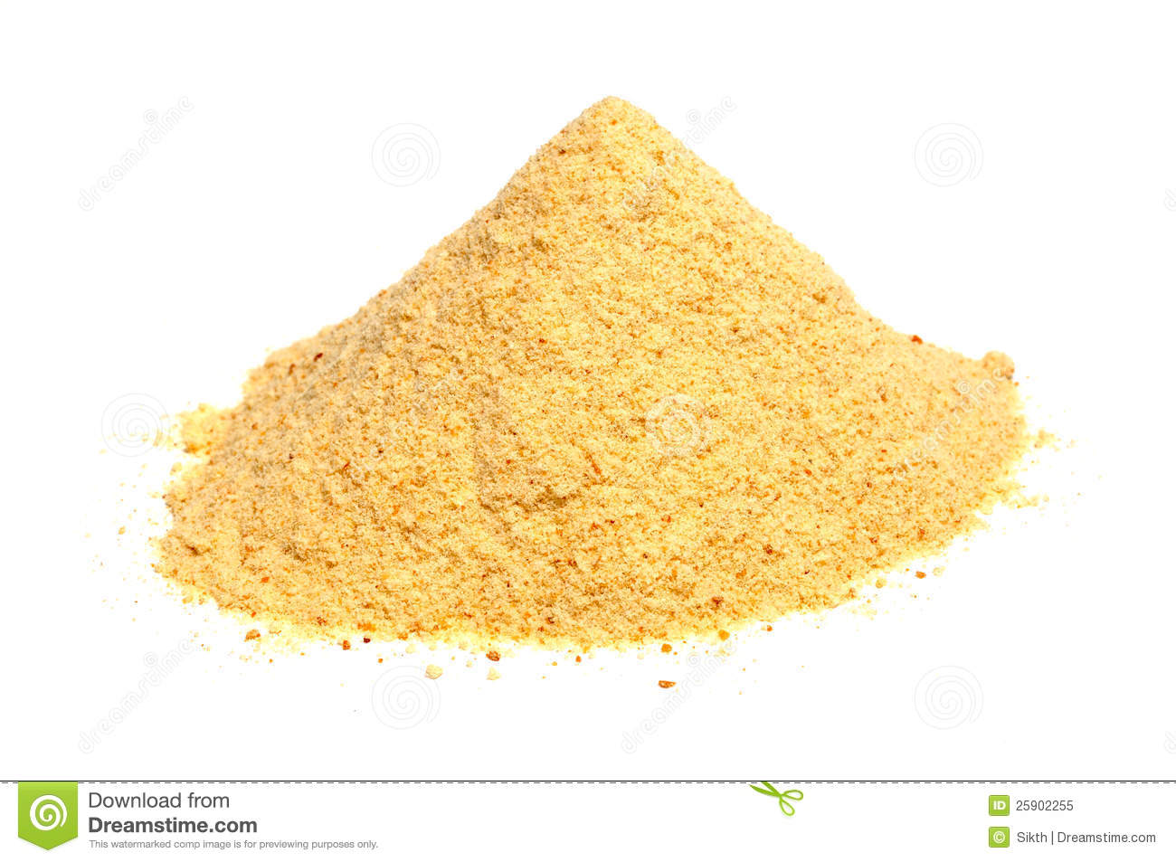 Bread Crumbs Rusk Flour Royalty Free Stock Photo Image