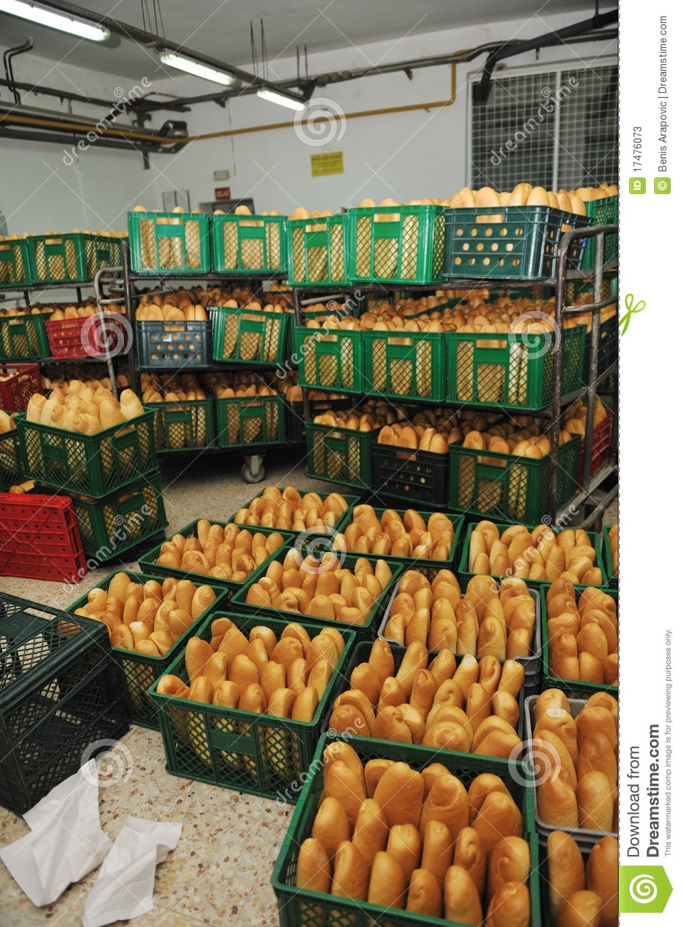 Bread Factory Production Stock Photos Image 17476073
