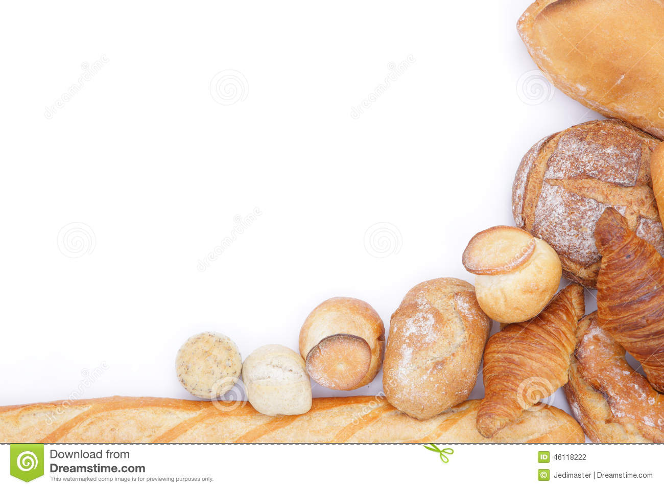 Bread frame stock photo. Image of breads, breakfast, healthy - 46118222