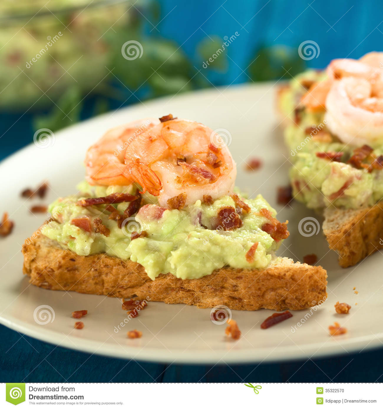 Bacon Shrimp Toast Recipes — Dishmaps