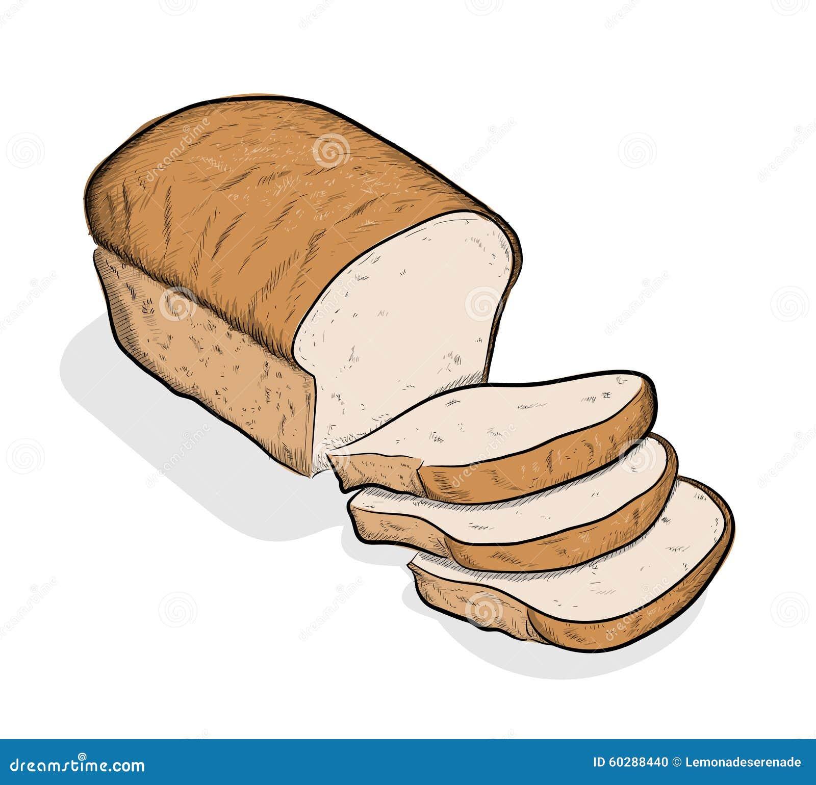 Bread Stock Vector Image 60288440