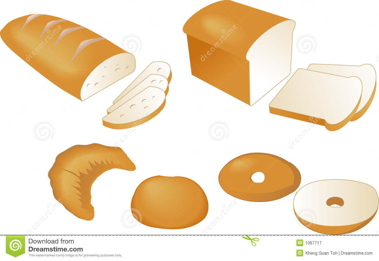 Bread Illustration Royalty Free Stock Photography Image