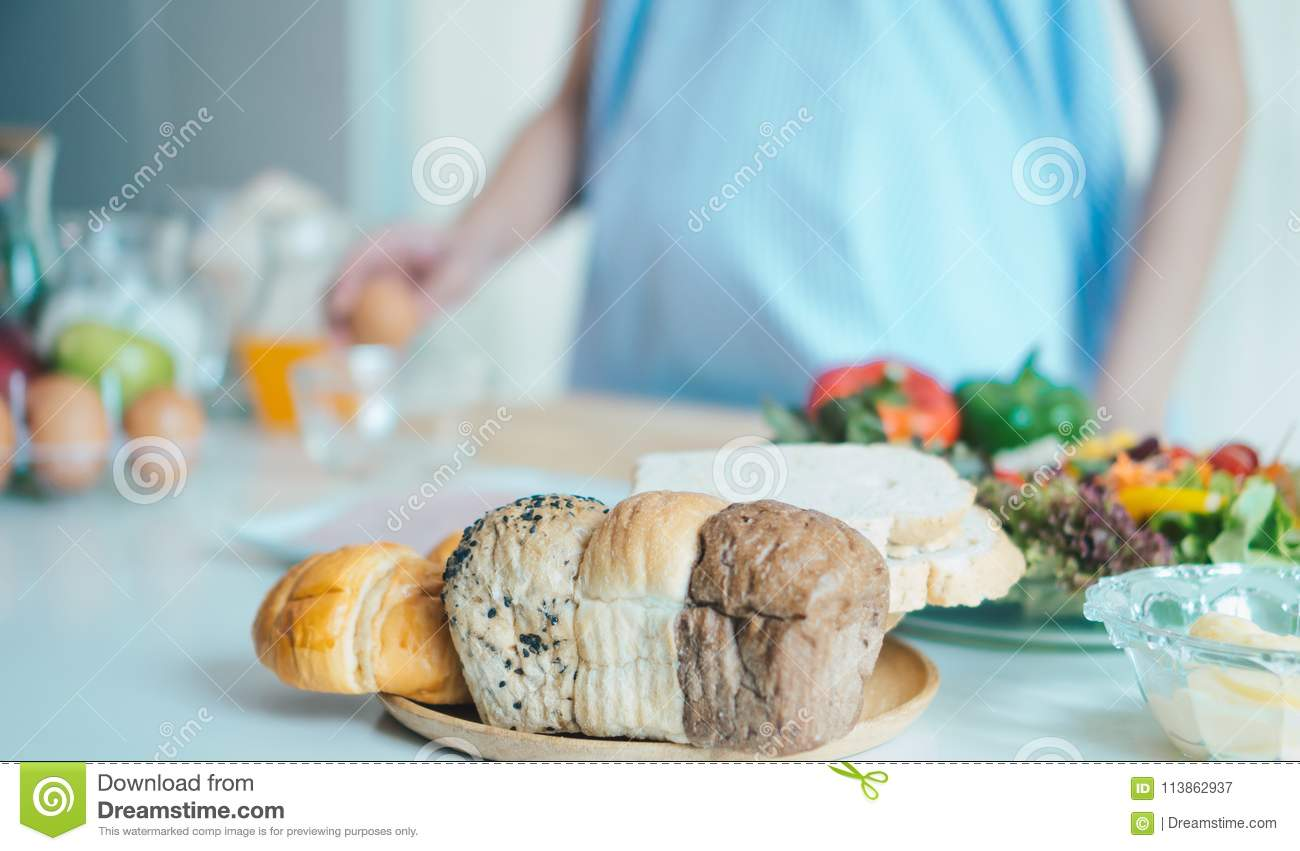 Bread in the kitchen