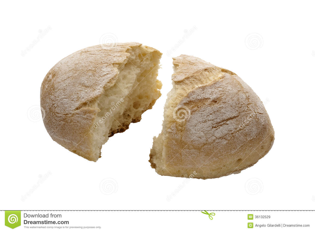 Bread Stock Image Image Of Wheat Food Baked Broken