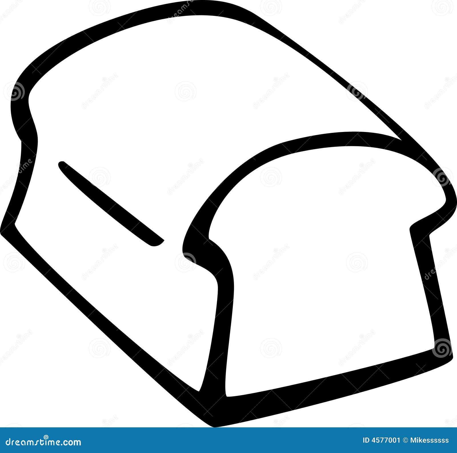 Bread Loaf Vector Illustration Stock Image Image 4577001