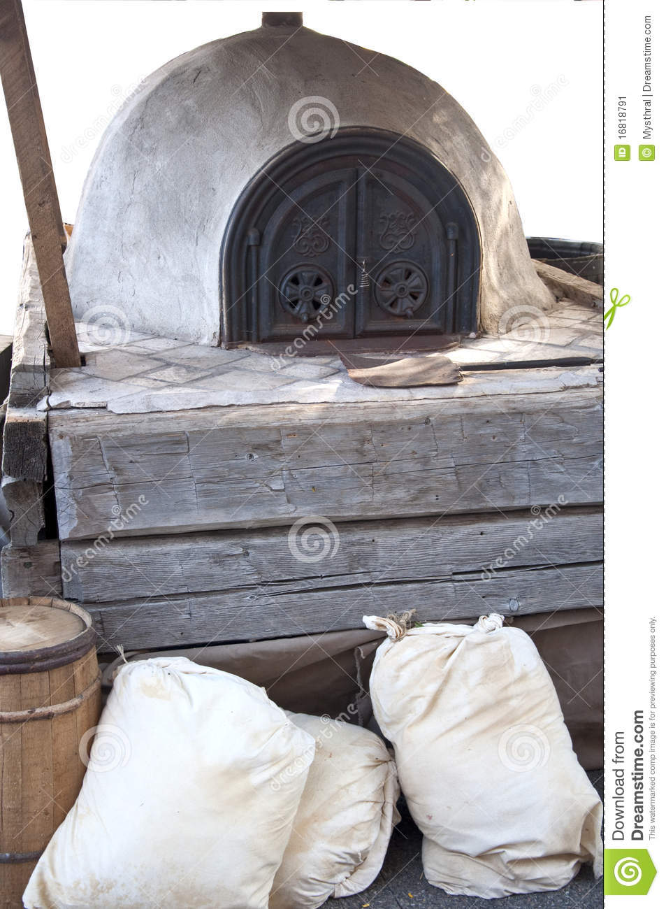 Bread Oven Stock Image Image 16818791