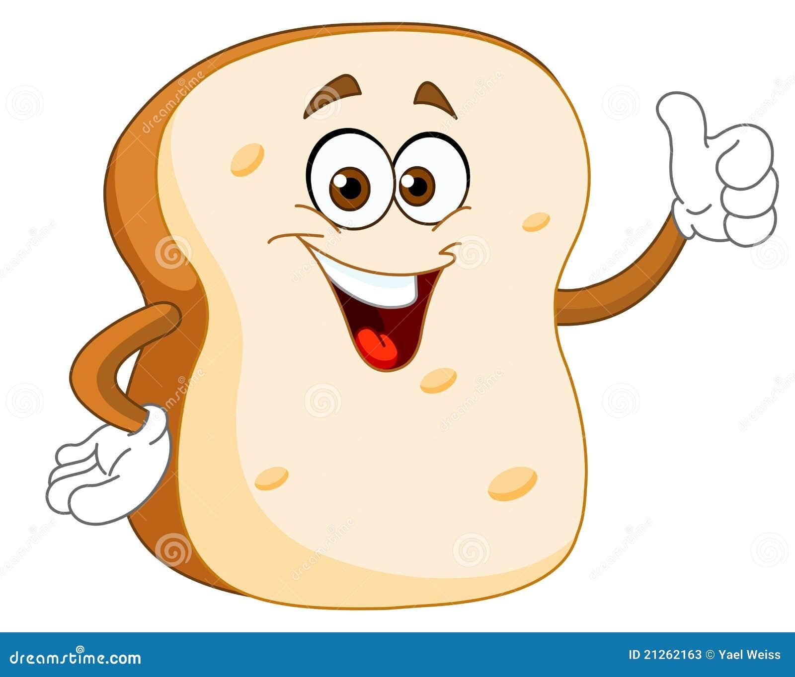 Bread Slice Cartoon Stock Photos - Image: 21262163