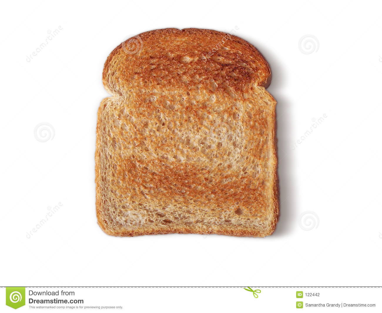 Bread Toasted no butter stock photo. Image of brown ...