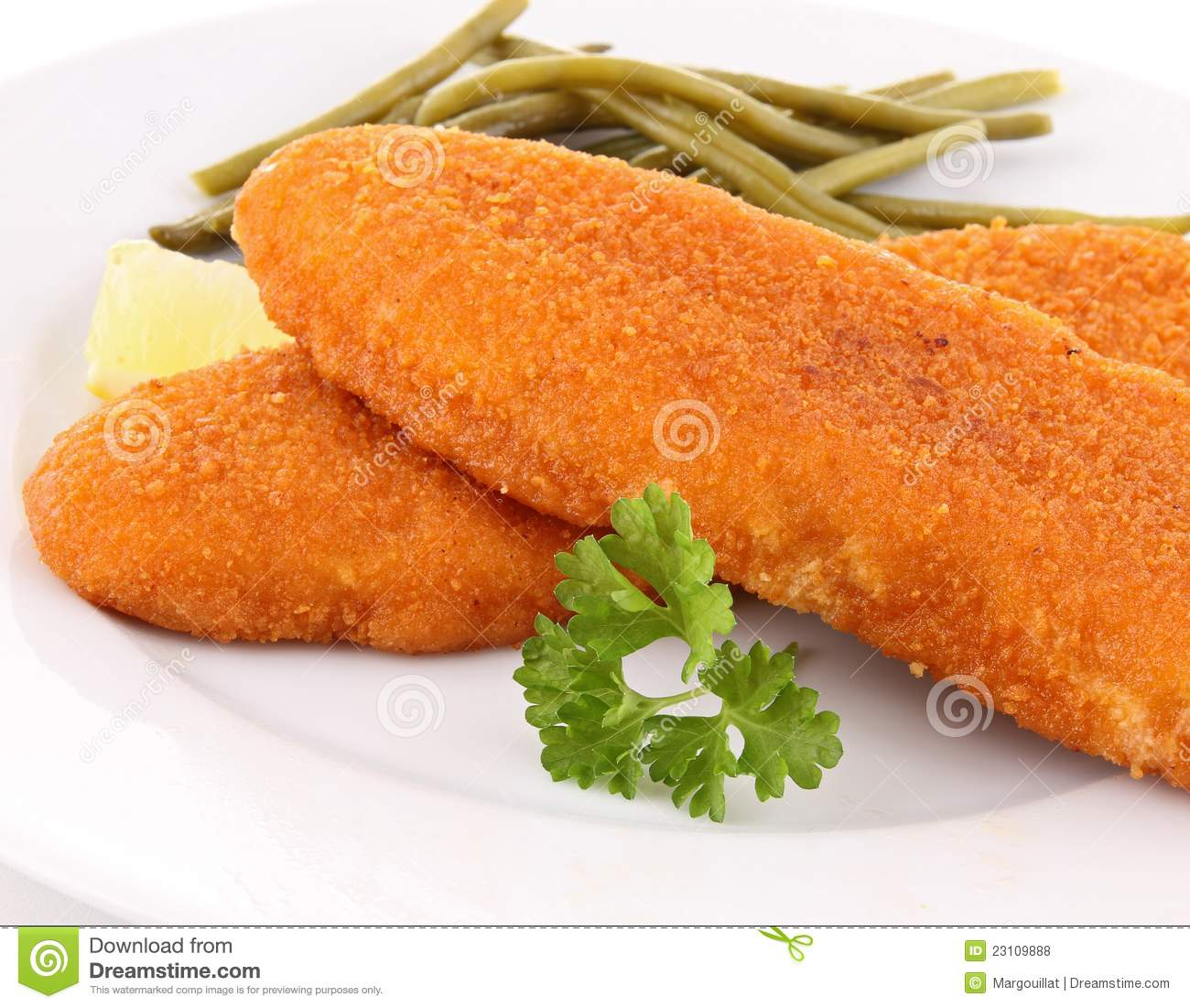 Breaded fish royalty free stock photos image 23109888 for How to bread fish