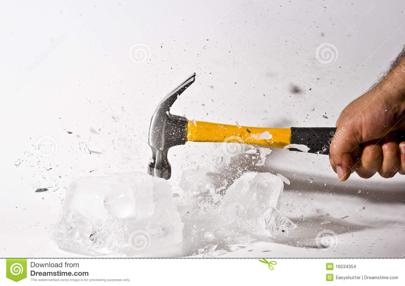 Break The Ice Stock Images - Image: 16534354
