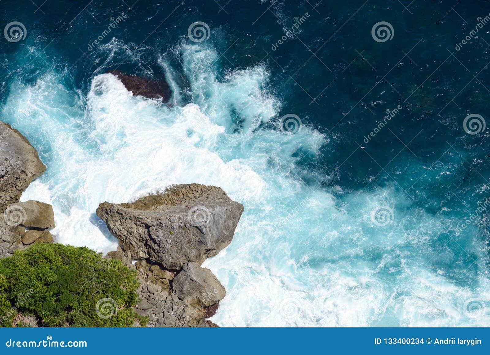 Break ocean aerial photography