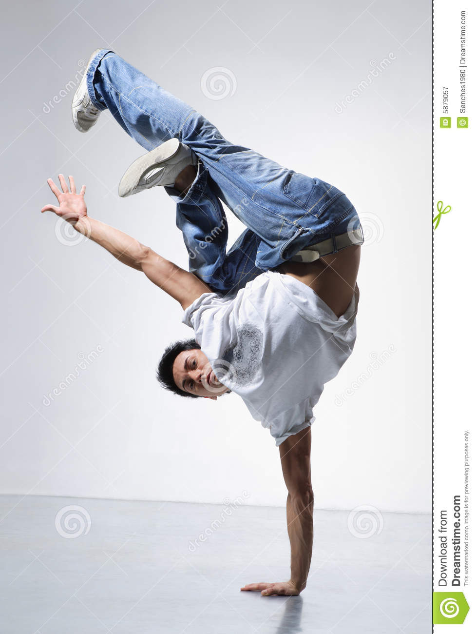 Breakdance royalty free stock photography image 5879057