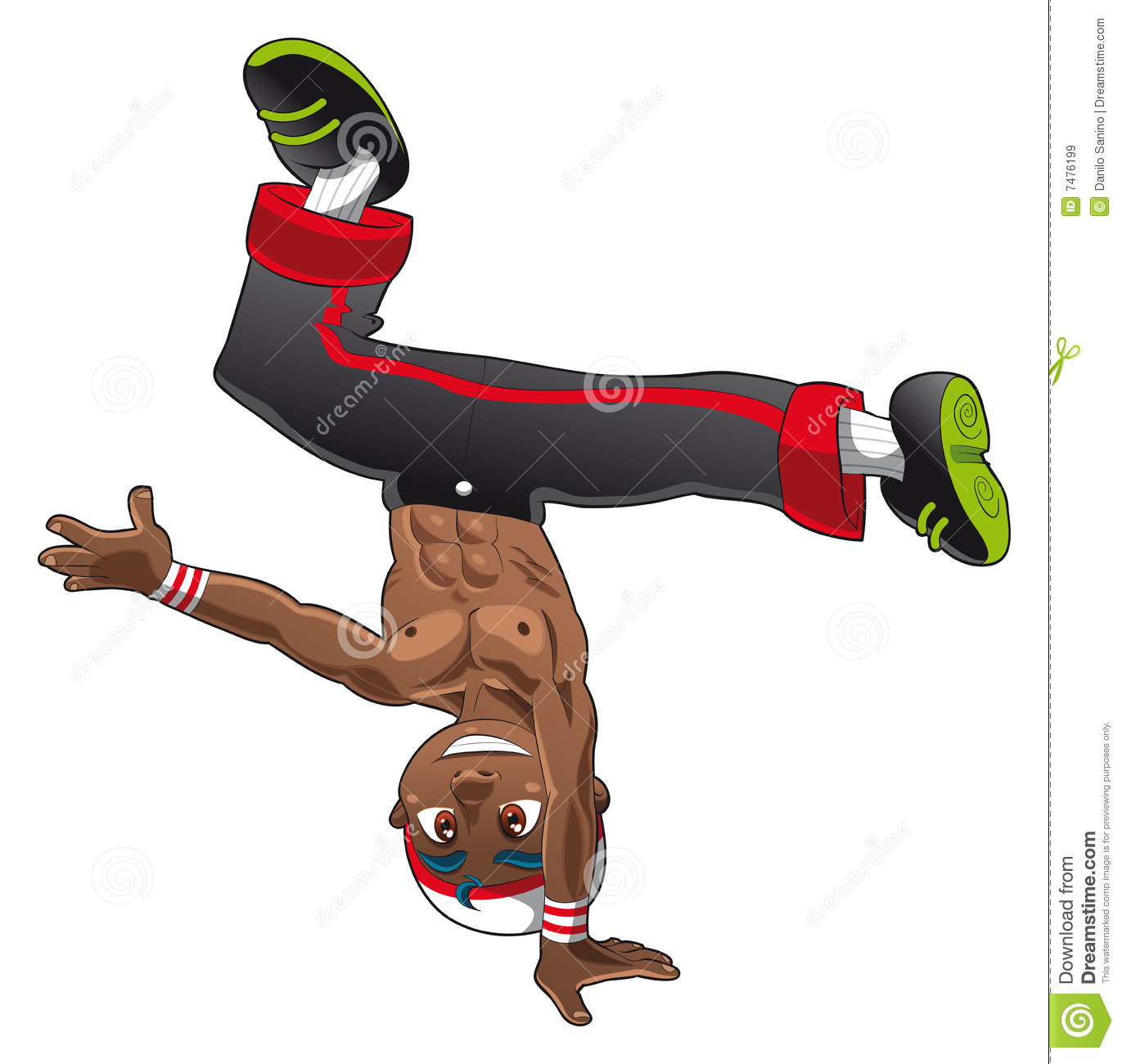 BreakDance Royalty Free Stock Images - Image: 7476199