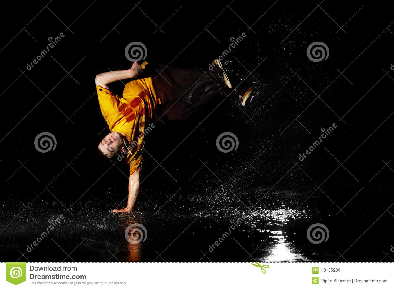 breakdance style One puts his emphasis on power moves and their combination and the other shows their style and  b-boying became very popular as breakdance by many.