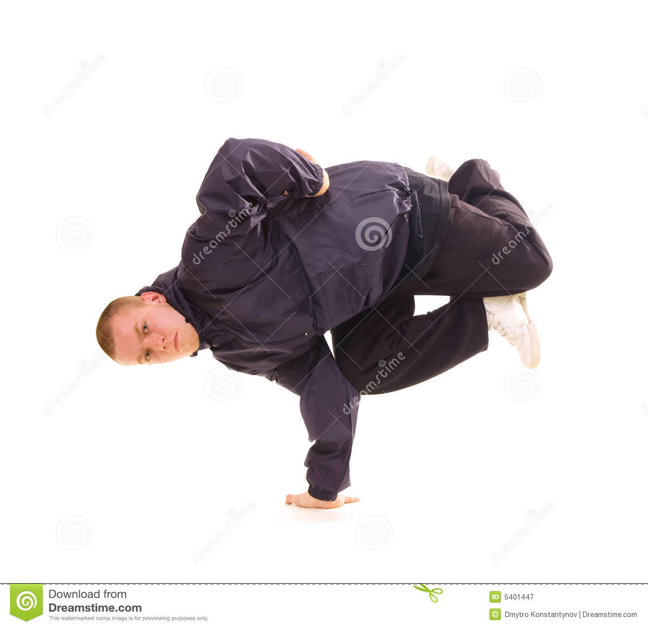 Breakdancer In Air Baby Freeze Stock Image Image 5401447